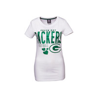 Green Bay Packers NFL Womens Baby Jersey Crew T-Shirt