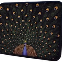 13 inch Fascinating Peacock Notebook Laptop Sleeve Bag Carrying Case for most of MacBook, Acer, ASUS, Dell, HP, Lenovo, Sony, Toshiba