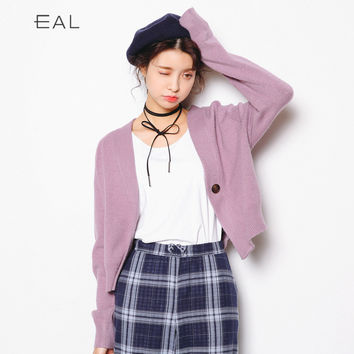 Korean Women's Fashion Autumn Knit Tops Ladies Jacket [9022915399]