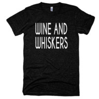 Wine & Whiskers T-Shirt