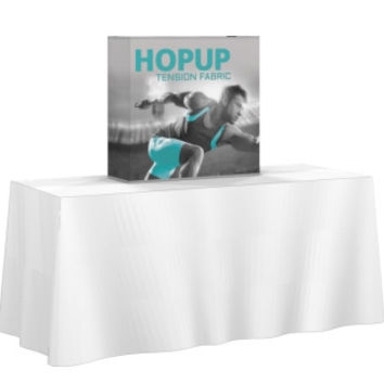 Table Top pop up 2.5' Straight Display