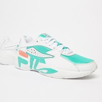 Fila Mind Blower Shoes In Mint at asos.com
