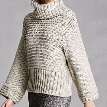 Chunky Wool-Blend Sweater