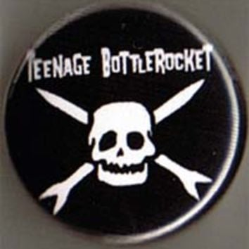 Teenage Bottlerocket- Skull pin (pin883)