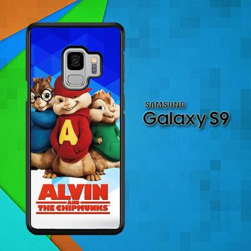 Alvin And The Chipmunks R0317 Samsung Galaxy S9 Case