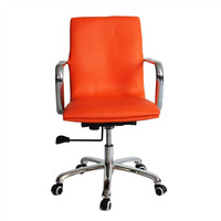 Confreto Conference Office Chair Mid Back in Orange