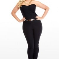 Plus Size Showstopper Belted Jumper | Fashion To Figure