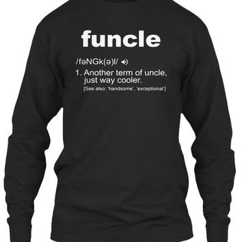Funcle Shirt Gift Ideas For Uncle T Shir
