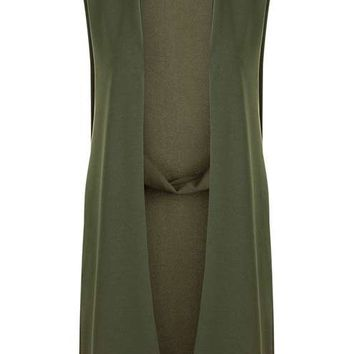 **Panelled Detail Waistcoat by Wal G - Jackets & Coats - Clothing