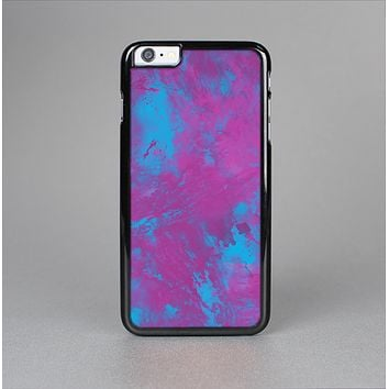 The Purple and Blue Paintburst Skin-Sert for the Apple iPhone 6 Plus Skin-Sert Case