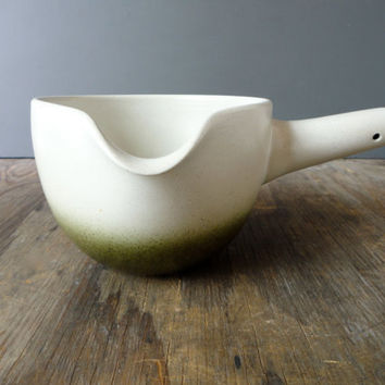 Heath Pottery Pouring Bowl -  Sea and Sand - Vintage 1970s