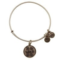 It Is What It Is Charm Bangle