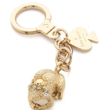 Kate Spade New York Kiss A Prince Frog Keychain