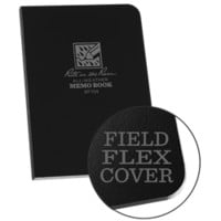 "754 Black Memo Book Universal Field-Flex 3 1/"" x 5"""