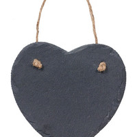 Paper Source Heart Hanging Chalkboard from Paper Source | BHG.com Shop