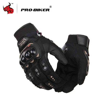 PRO-BIKER Knight Finger Gloves Racing Motorcycle Special Forces Tactical Gloves Slip Outdoor Men Fighting Gloves
