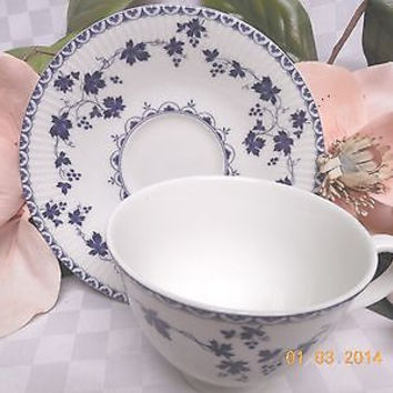 Royal Doulton China Dinnerware England Yorktown Pattern # TC1013 cup and saucer