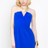 Naven Bombshell Dress Vegas Blue- Bombshell Dress- Naven- $199
