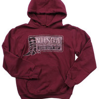 Cowboy Up® Men's NHSRA Hooded Sweatshirt