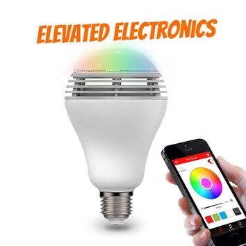 Playbulb Bluetooth Speaker Smart Dimmable LED Light Bulbs Color Changing