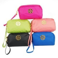 Travel Cosmetic Bag Assorted Color Zipper Coin Purse Multi Purpose