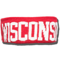 The Game WI Badger Earband (Red)