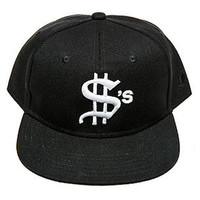 MONEY SNAPBACK HAT BLACK