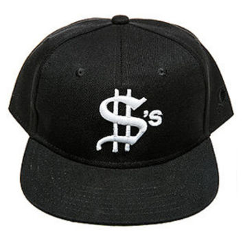 DOLLARS TEAM SNAPBACK HAT BLACK