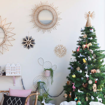 Down To The Woods | Scandi Tree Topper Angel