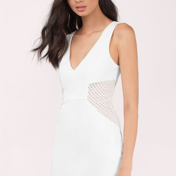 Jaclyn Mesh Bodycon Dress