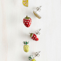 Fruits Fruits You Well Earring Set by ModCloth