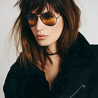 Free People Womens Mile High Sunglass