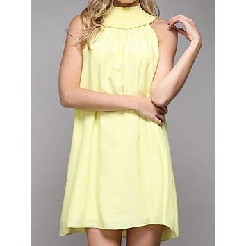 Good Intentions Dress | Lemon