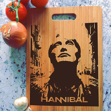 kikb610 Personalized Cutting Board Hannibal TV series fan gift