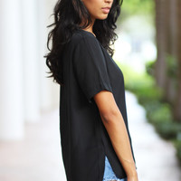 The Jessica Sheer Blouse