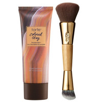 tarte Colored Clay 2-in-1 SPF 15 Foundcealer with Brush — QVC.com