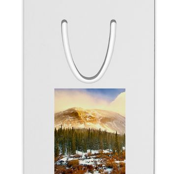 Nature Photography - Mountain Glow Aluminum Paper Clip Bookmark by TooLoud