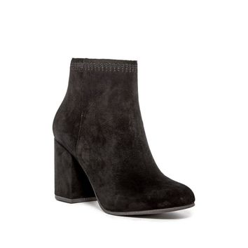 Lucky Brand Women's Salmah 2 Block Heel Ankle Boot