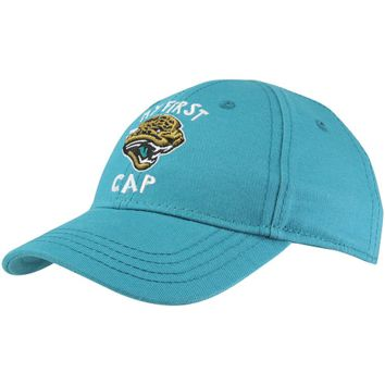 New Era Jacksonville Jaguars On-Field Dog Ear 59FIFTY Fitted Performance Hat - Teal