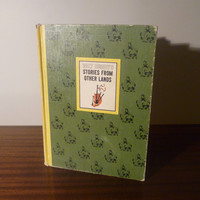 """Vintage 1965 Book : """"Walt Disney's Stories From Other Lands"""" Hard Cover / Retro Children's Book / Disney Classics Story Book / Peter Pan"""
