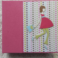 6x6 Pregnancy Scrapbook Album