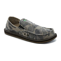 Sanuk Camo Pick Pocket Slip-On Shoes - Camo