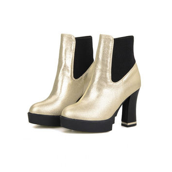 Plus Size 34-45 High Quality Pu Leather Thigh High Boots Fashion Women Ankle Boots Franch Slip On Isabel Marant Boots Shoes