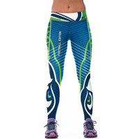Seattle Seahawks Printed Leggings