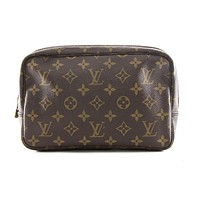 Authentic Louis Vuitton Trousse toilette 23 monogram cosmetic bag M47524