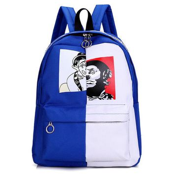 Cool Backpack school CIKER Fashion Student Campus Versatile Minimalist Backpack Mochilas New Canvas Tide Cool Backpack High Quality Computer Backpack AT_52_3