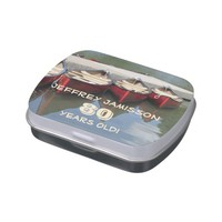 Jelly Belly Candy Tin Red Canoes Party Favor 80