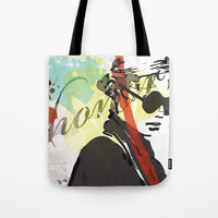 Shades Tote Bag by allisonreich