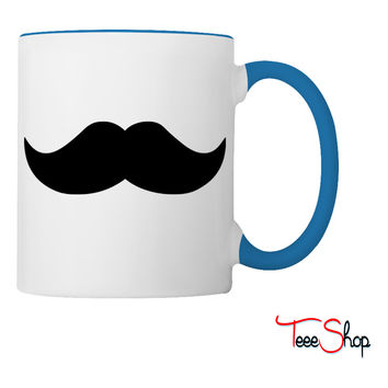 Mustache Coffee & Tea Mug