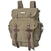 EuroSport WWII Khaki Canvas Backpack Bag